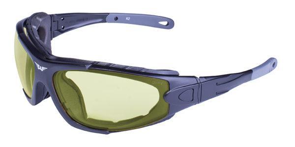 Фотохромные очки хамелеоны Global Vision Eyewear SHORTY 24 Yellow