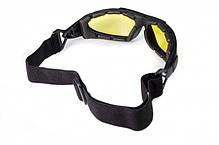 Фотохромные очки хамелеоны Global Vision Eyewear SHORTY 24 Yellow, фото 2