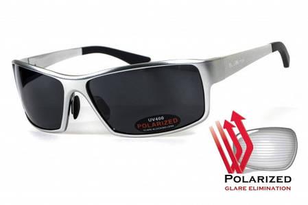 Поляризаційні окуляри BluWater ALUMINATION 1 Silver Gray, фото 2