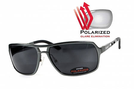Поляризационные очки BluWater ALUMINATION 4 Gunmetal Gray, фото 2