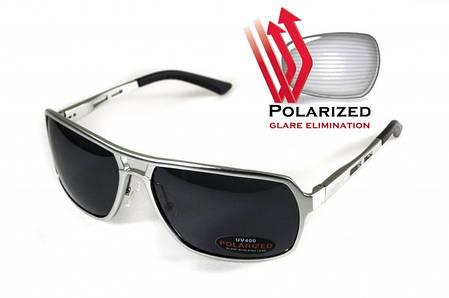 Поляризационные очки BluWater ALUMINATION 4 Silver Gray, фото 2