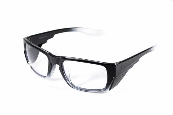 Оправа для окулярів під діоптрії Global Vision Eyewear OP 15 BLACK RX-ABLE Clear