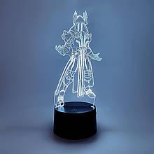 """3D ночник """"Владыка льда"""" 3DTOYSLAMP"""