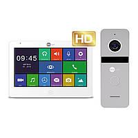 Комплект відеодомофона Neolight MEZZO HD / Solo FHD Silver