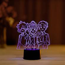 """3D нічник """"Емма,Норман,Рей"""" 3DTOYSLAMP"""