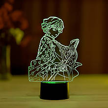 """3D нічник """"Зіницю Агацума"""" 3DTOYSLAMP"""