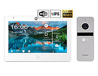 Комплект відеодомофона NeoLight Mezzo HD WiFi / Solo FHD Silver