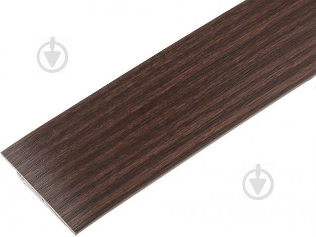 Кромка ПВХ 5753 43х2 мм бук шоколадный, фото 2