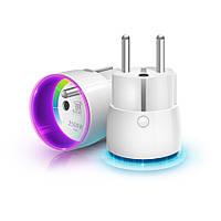 Розетковий вимикач з лічильником електроенергії FIBARO Wall Plug для Apple HomeKit - FGBWHWPE-102