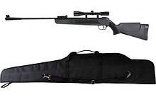 Пневматична гвинтівка Air Rifle LB600 + приціл 4х20 + чохол