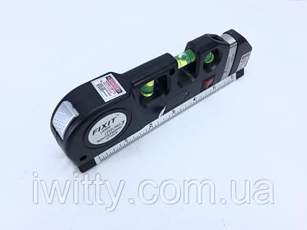 Лазерный Уровень Laser Level Pro 3 Со Встроенной Рулеткой и уровнем, фото 2