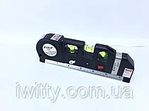 Лазерный Уровень Laser Level Pro 3 Со Встроенной Рулеткой и уровнем, фото 3