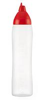 02557 Пляшка для соусу Araven червона (1000 мл)