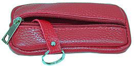 Чохол для ключів, ключниця з шкіри Always Wild 010-55-15 червона