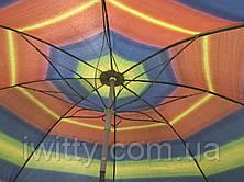 Пляжний парасольку з регульованою висотою та нахилом 180 см 1, фото 2