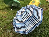 Пляжный зонт с регулируемой высотой и наклоном 180 см 4, фото 3