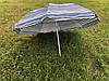 Пляжный зонт с регулируемой высотой и наклоном 180 см 4, фото 5