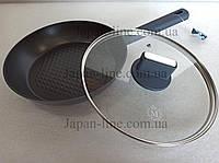 Сковорода с крышкой Meisterklasse MK-1041-28 grey diamont 28 см.
