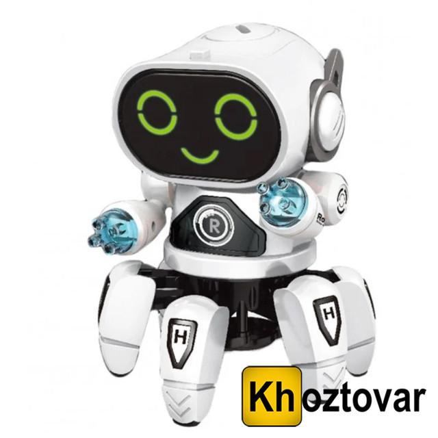 Танцующий светящийся робот Robot Bot Pioneer
