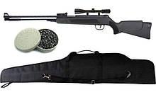 Пневматична гвинтівка Air Rifle WF600P + приціл 4х20 + кулі Oztay 0,51 + чохол