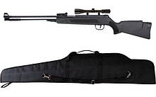 Пневматическая винтовка Air Rifle WF600P + прицел 4х20 + чехол