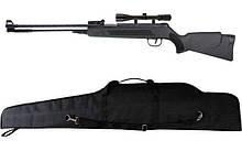 Пневматична гвинтівка Air Rifle WF600P + приціл 4х20 + чохол