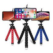 Універсальний гнучкий штатив восьминіг для мобільного телефону з тримачем, тринога, трипопод