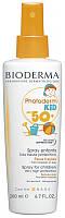 Солнцезащитный спрей для детей SPF 50+ Биодерма Bioderma Photoderm Kid Spray SPF50+, 200 мл