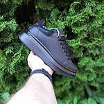 Женские кроссовки Alexander McQueen (черные) О20191 удобная качественная обувь, фото 8
