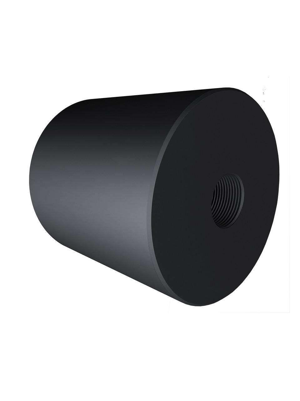 ODF-06-25-21-L40 Дистанція 40 мм для коннектора діаметром 40 мм з різьбою М8, чорний
