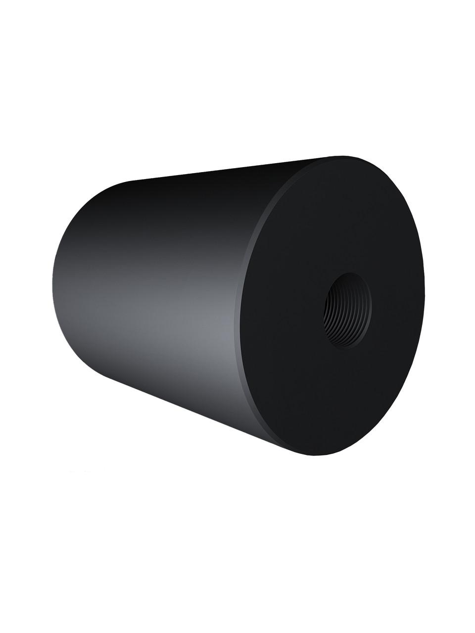 ODF-06-25-21-L50 Дистанція 50 мм для коннектора діаметром 40 мм з різьбою М8, чорний