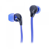 Навушники вакуумні провідні без мікрофона Ergo VT-101 Blue