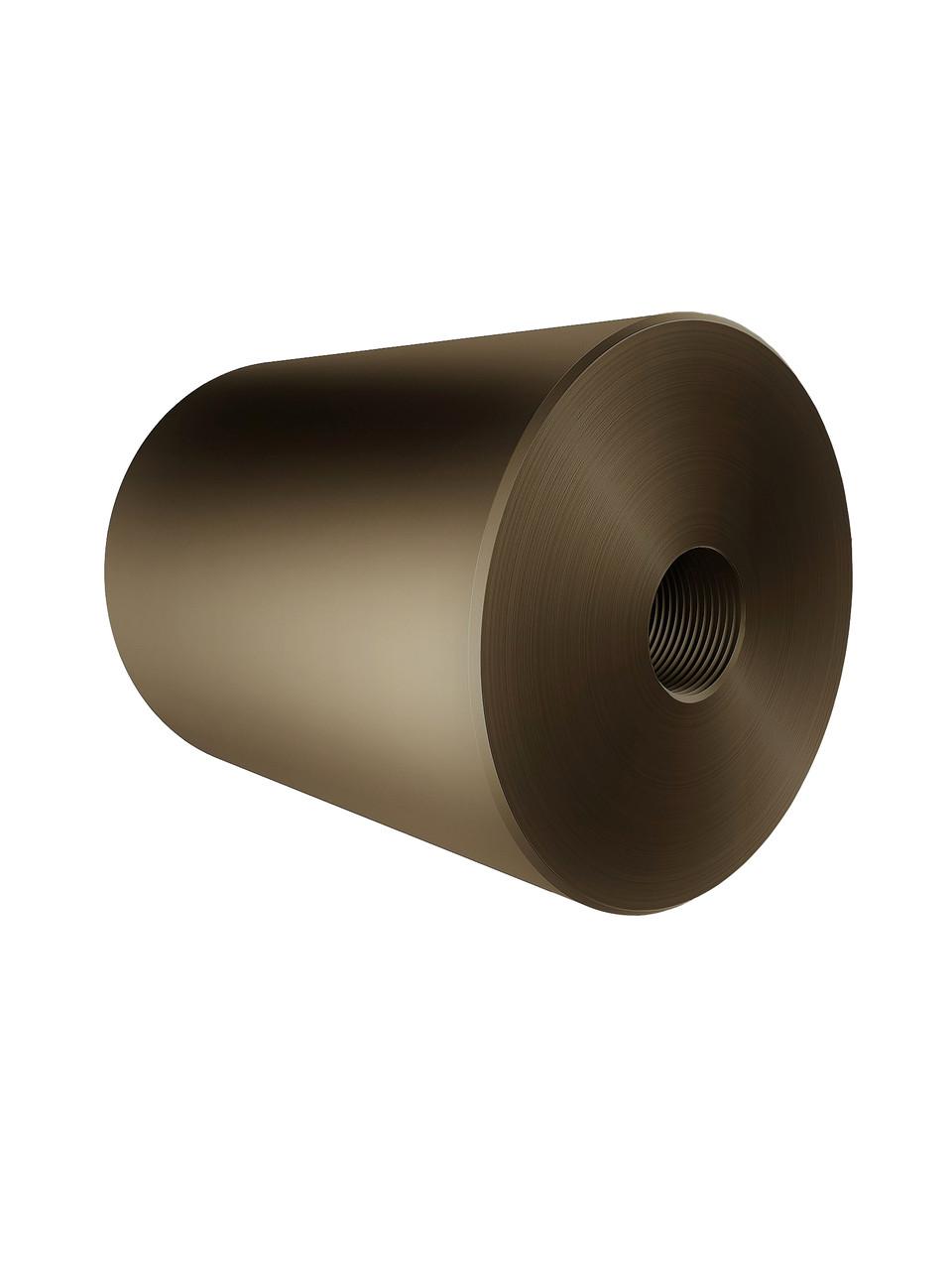 ODF-06-26-30-L50 Дистанция 50 мм для коннектора диаметром 40 мм и с резьбой М10, цвет матовая бронза