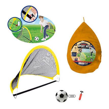 Детские футбольные ворота METR+, MR0397-3, фото 2