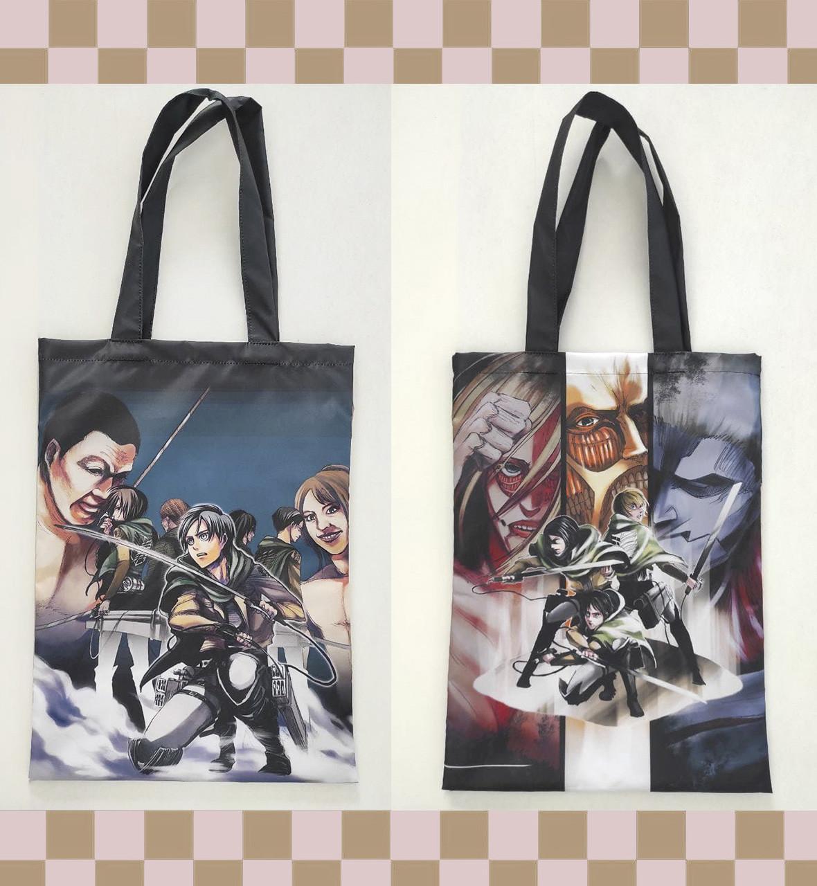"""Еко-сумка """"Attack on titan"""" S_14"""