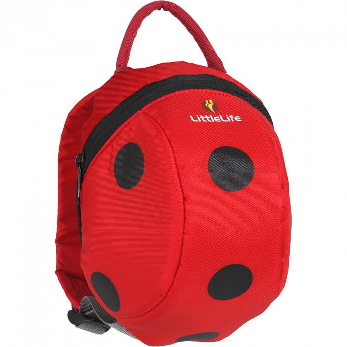 Рюкзак дитячий Little Life Animal Toddler 2L ladybird new, фото 2