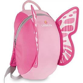 Рюкзак дитячий Little Life Big Animal Kids 6L butterfly