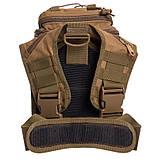 Тактичний рюкзак - сумка Silver Knight 10л Molle Velcro Coyote (803-cotote), фото 4