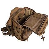 Тактичний рюкзак - сумка Silver Knight 10л Molle Velcro Coyote (803-cotote), фото 5