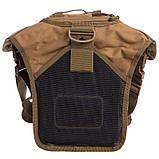 Тактичний рюкзак - сумка Silver Knight 10л Molle Velcro Coyote (803-cotote), фото 7