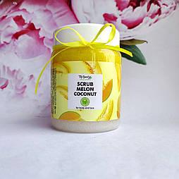 Скраб на основі кокосового масла scrub melon coconut Top Beauty 250 мл