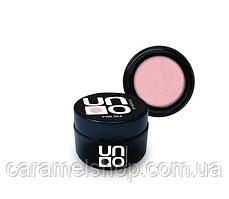 Однофазний гель для нарощування нігтів UNO, 15 ml. репліка Pink Silk