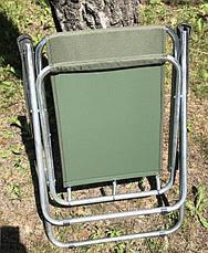 Складной стул со спинкой Vista раскладное кресло в ассортименте, фото 3