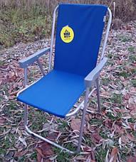 Складной стул со спинкой Vista раскладное кресло в ассортименте, фото 2