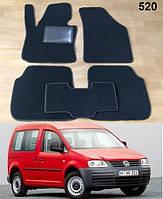 Ворсовые коврики на Volkswagen Caddy '04-15