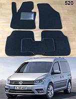 Ворсовые коврики на Volkswagen Caddy '16-20