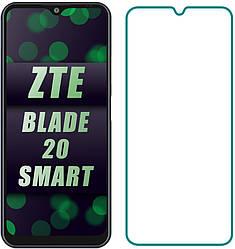 Защитное стекло ZTE Blade 20 Smart (Прозрачное 2.5 D 9H)