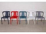 Стілець пластиковий IVA червоний (безкоштовна доставка), фото 8