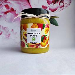 Парфумований мерехтливий міст для тіла Mango peach scrub Top Beauty 250 мл