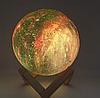 Светильник ночник 3D шар цветной Луна Moon Lamp, фото 5